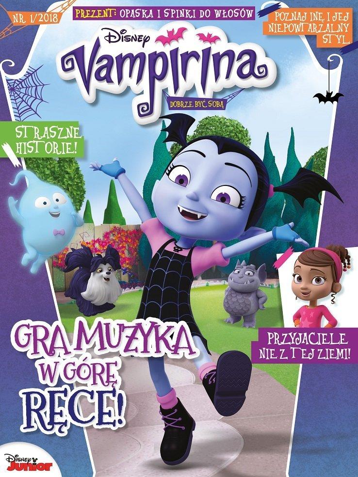 Vampirina - nowe pismo dla dziewczynek