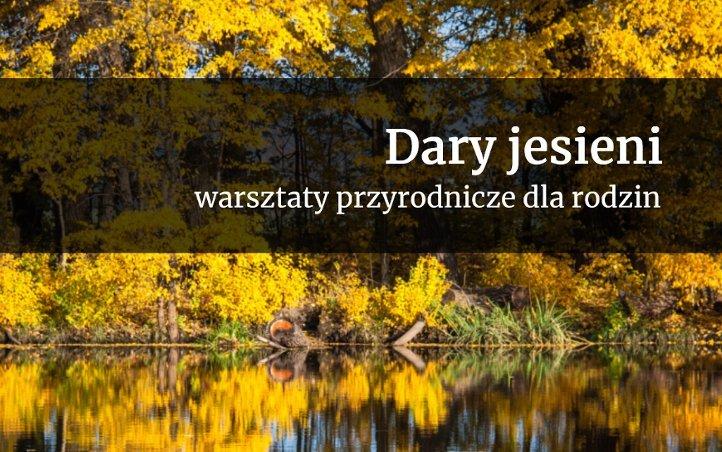 Dary jesieni | warsztaty przyrodnicze w parku wilanowskim