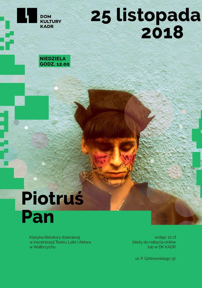 Piotruś Pan - spektakl dla dzieci