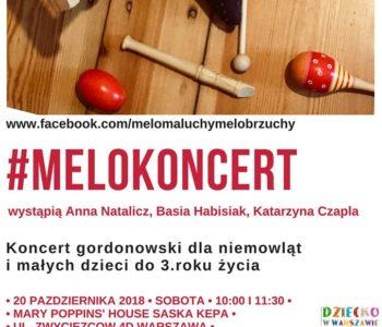 MeloKoncert dla niemowląt i małych dzieci na Saskiej Kępie