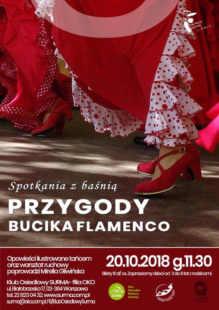 Przygody bucika Flamenco - spektakl interaktywny