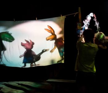 Żabka w Teatrze Animacji