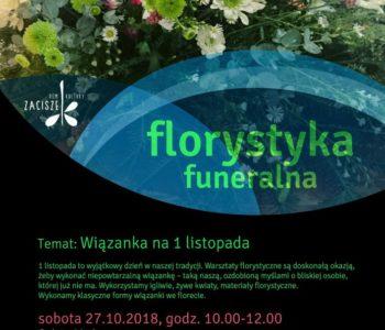 Florystyka funeralna: Wiązanka na 1 listopada