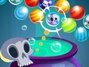 Halloweenowe kulki. Gra online dla dzieci