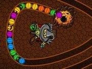 Halloweenowy  łańcuch. Gra online dla dzieci