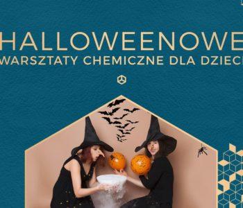Halloweenowe warsztaty chemiczne dla dzieci w Mozaice