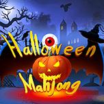 Halloweenowy Mahjong. Gra online dla dzieci
