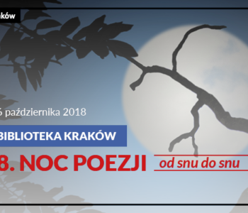 Noc Poezji z Biblioteką Kraków