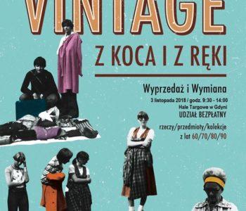 Hala Targowa - giełda Vintage Gdynia - atrakcje dla dzieci Trójmiasto 2018