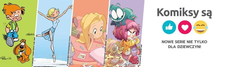 Komiksy są super – nowa linia wydawnicza dla dzieci