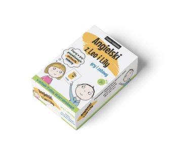 Angielski z Leo i Lily. Gry i zabawy – karty edukacyjne dla dzieci