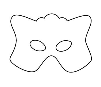 Maska do samodzielnego ozdobienia
