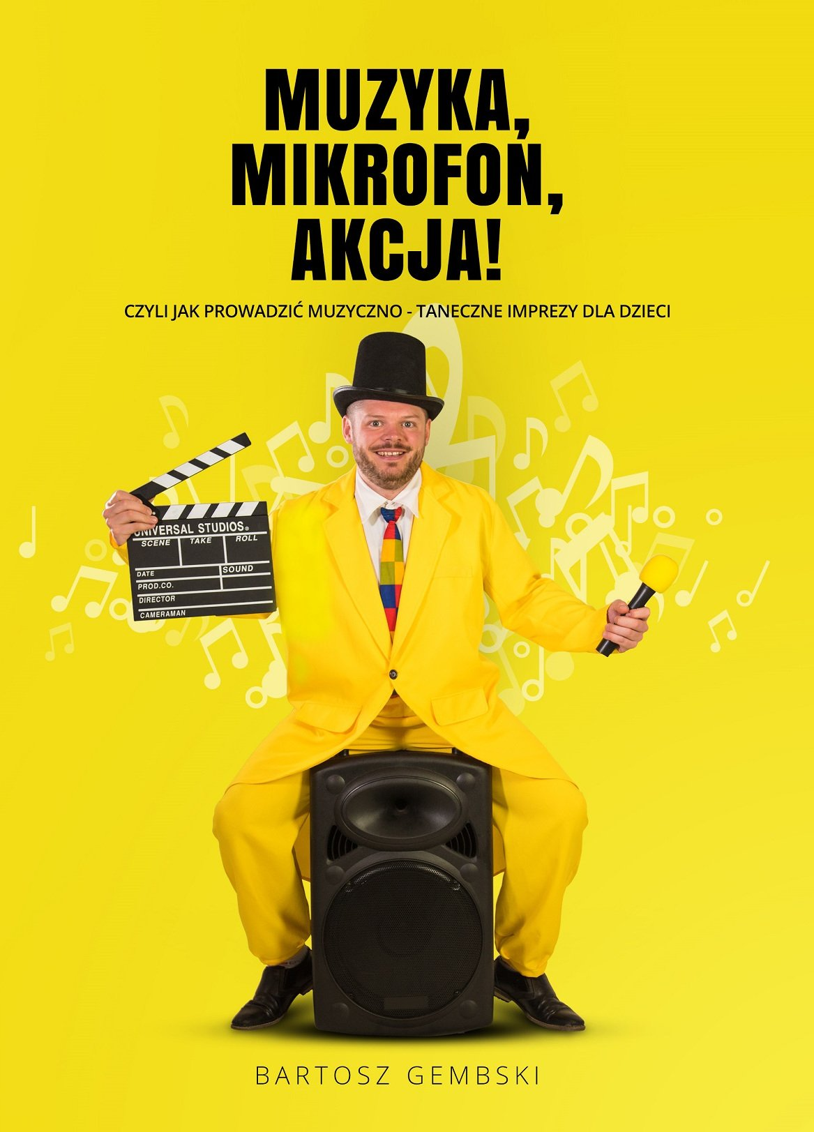 Książka: Muzyka, Mikrofon, Akcja!