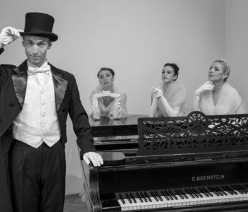 Paderewski. Fantazja i legenda – widowisko Baletu Cracovia Danza z udziałem Adama Wodnickiego