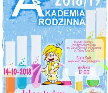Akademia Rodzinna - pokaz chemiczny Laboratorium Lolka