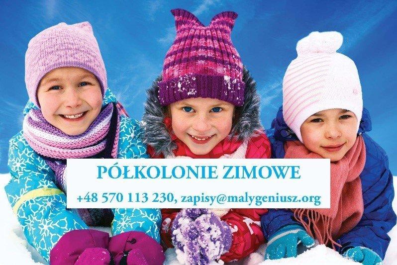 Półkolonie zimowe 2020 w Poznaniu z bardzo ciekawym programem