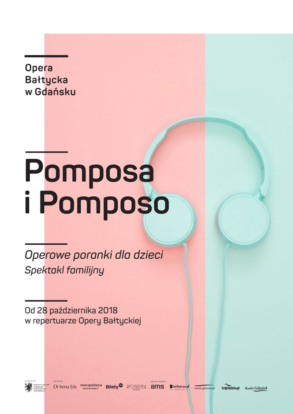 Pomposa i Pomposo - spektakl familijny