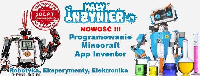 Programowanie Minecraft, App Inventor oraz inne warsztaty