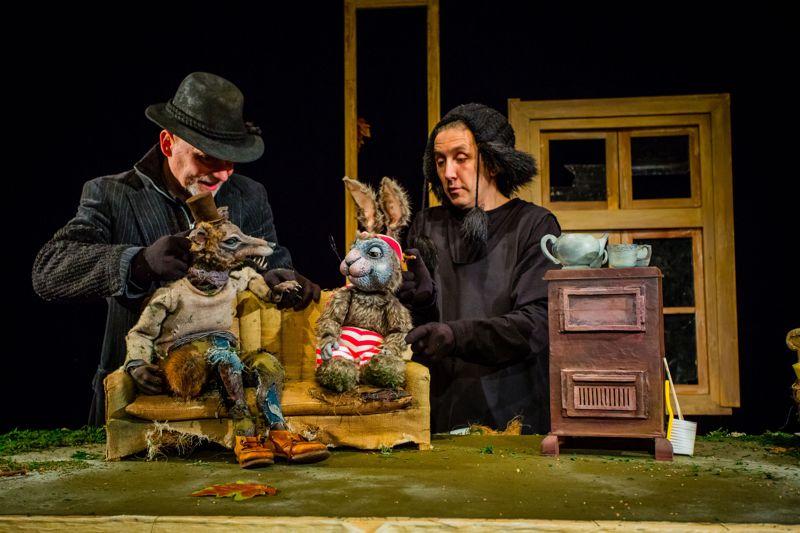 Smacznego, proszę wilka - spektakl w Teatrze Banialuka