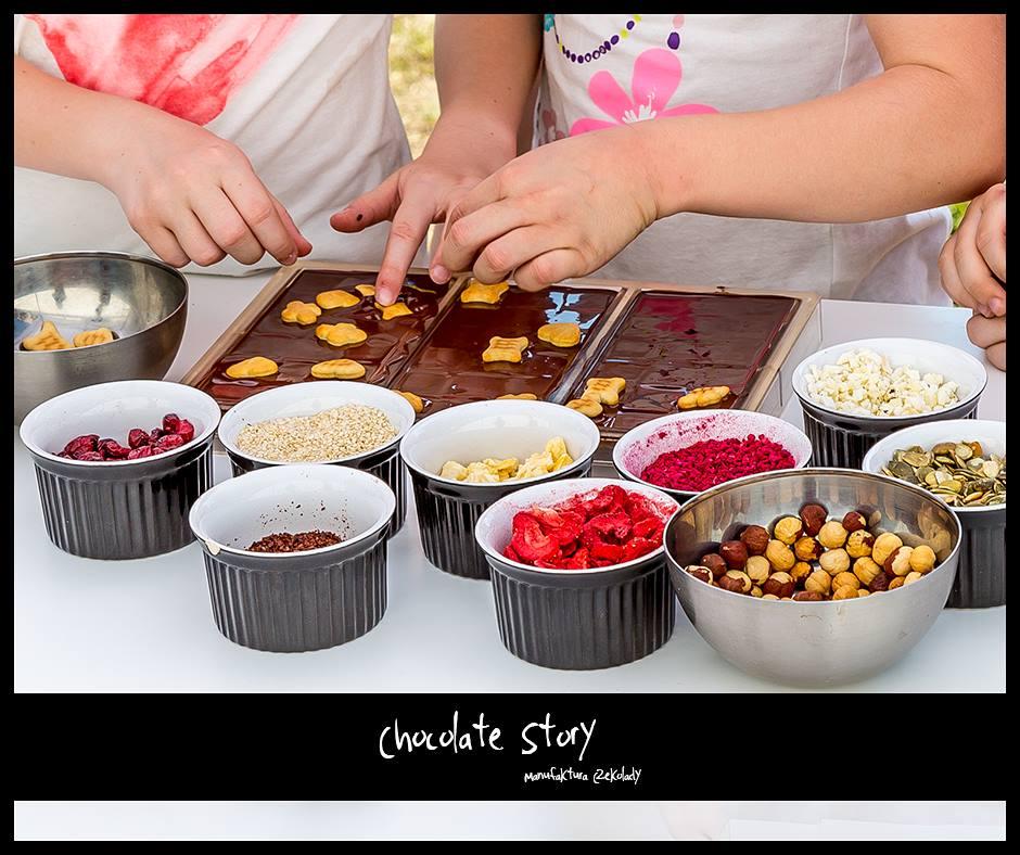Grupowe warsztaty czekoladowe w Manufakturze Czekolady