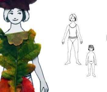 ubieranka - jesień, lliście
