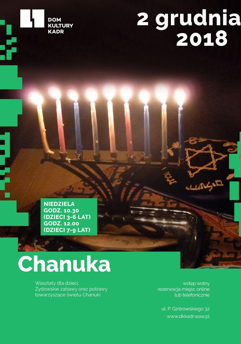 Chanuka - warsztaty dla dzieci