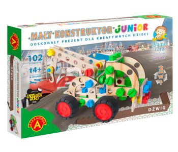 dźwig 3 w 1 zabawka konstruktor