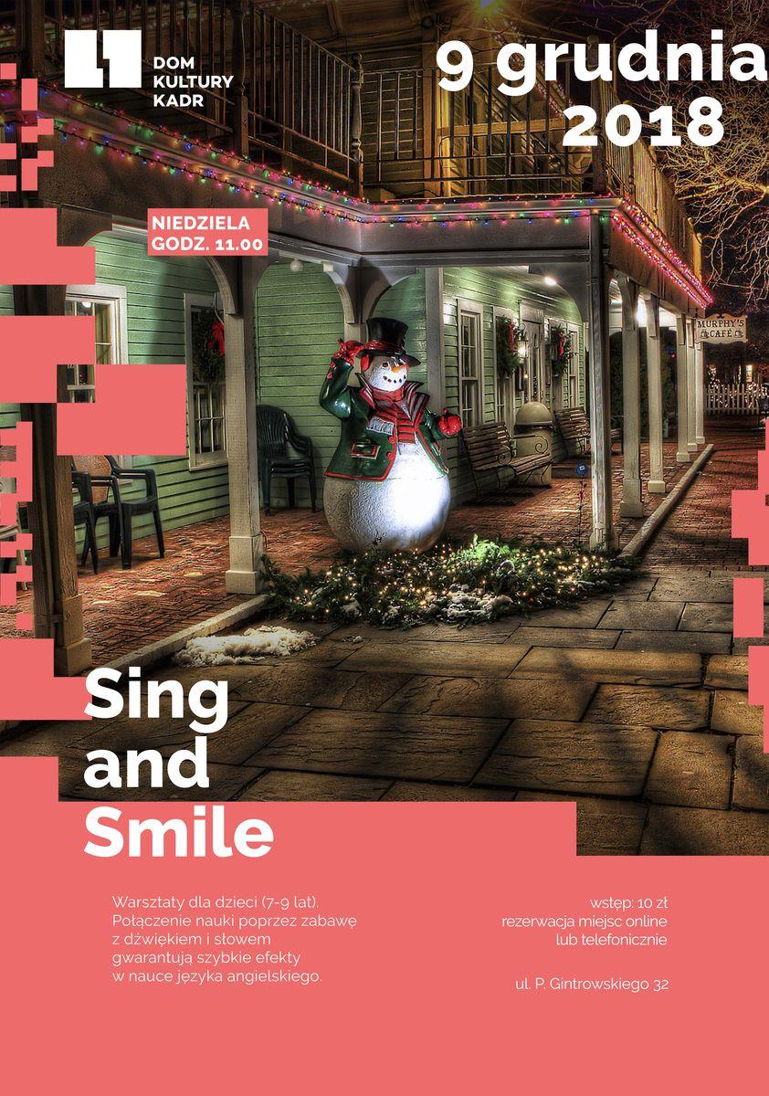 Sing and smile - warsztaty dla dzieci