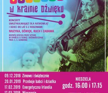 Maluchy w Krainie Dźwięku: Zimowo i świątecznie. Ruda Śląska