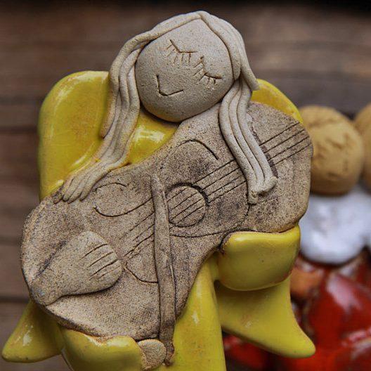 Warsztaty ceramiczne Anioły i Mikołaje