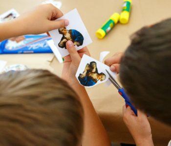 Warsztaty dla rodzin z dziećmi ze spektrum autyzmu: Jak powstają obrazy?
