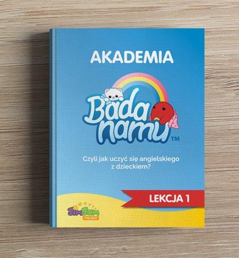 Jak uczyć się angielskiego z dzieckiem? Akademia BadaNamu - ebook dla rodziców