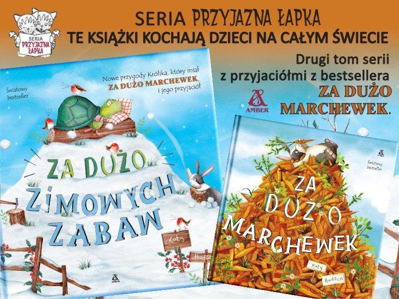 Za dużo zimowych zabaw - światowy bestseller