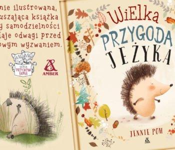 Wielka przygoda Jeżyka – książeczka dla dzieci