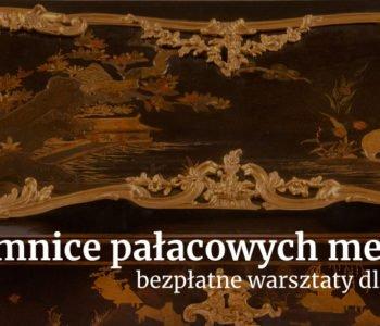 Bezpłatne warsztaty artystyczne dla rodzin w pałacu wilanowskim