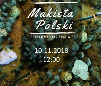 Warsztaty artystyczne – makieta Polski