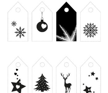 Etykiety do prezentów
