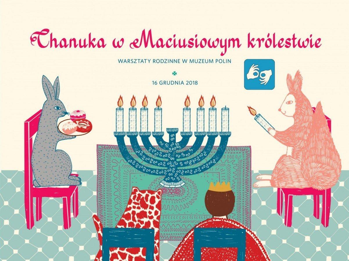 Chanuka w Maciusiowym królestwie - wydarzenie towarzyszące wystawie