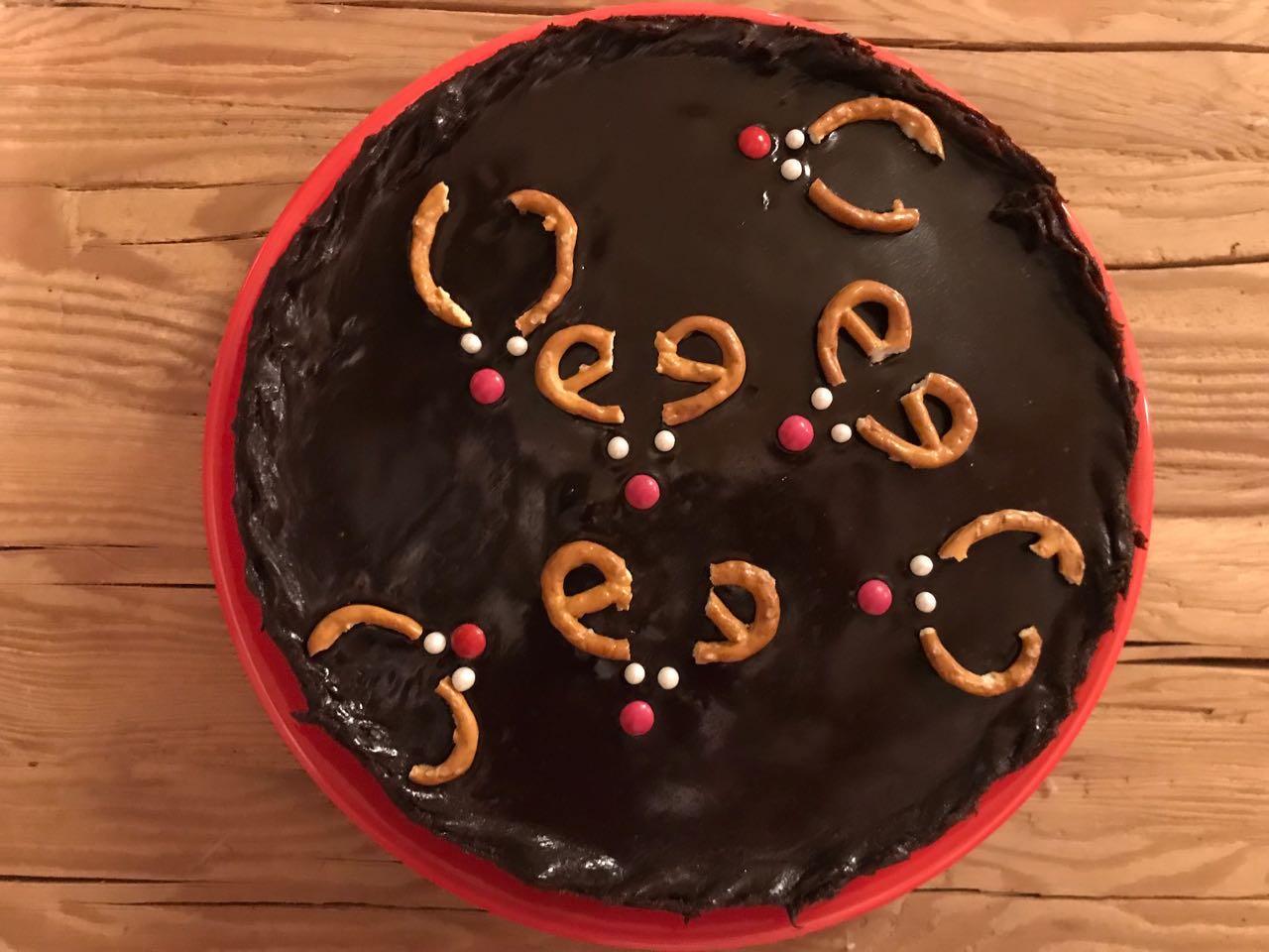 przepis na świąteczne ciasto z reniferami