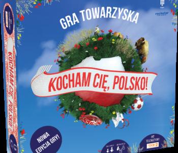 Wygraj grę Kocham Cię Polsko!  w konkursie na 100-lecie odzyskania niepodległości !