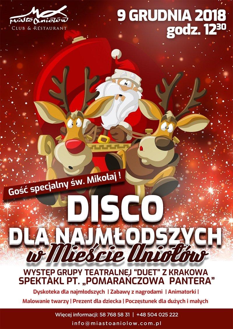 Disco - Mikołajki dla dzieci