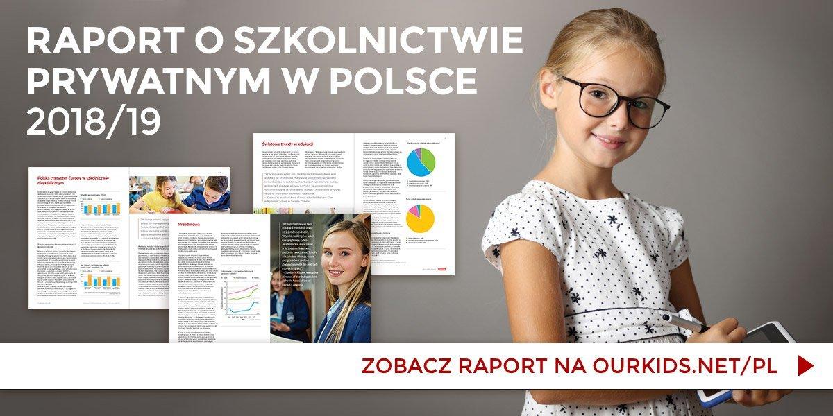 Raport o szkołach prywatnych i trendach w edukacji - atrakcje dla dzieci 2018 miastodzieci.pl
