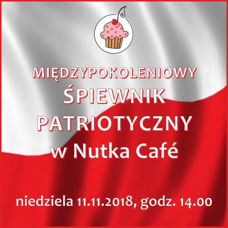 Międzypokoleniowy Śpiewnik Patriotyczny w Nutka Cafe