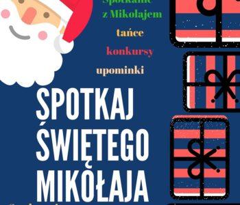 Spotkanie z Mikołajem w OEK Sadyba