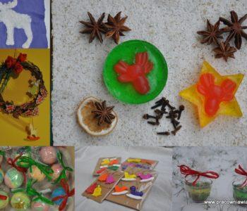 Świąteczne ozdoby i prezenty – warsztaty twórcze w przedszkolu i szkole