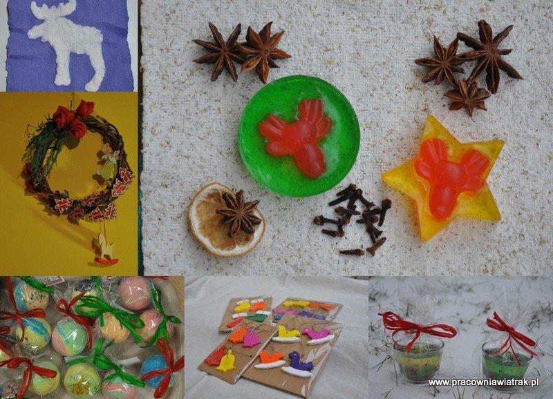Świąteczne ozdoby i prezenty - warsztaty twórcze w przedszkolu i szkole