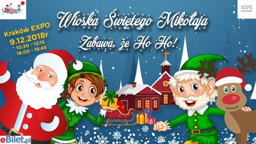 Mikołajki Kraków 2018 atarkcje dla dzieci i rodziców