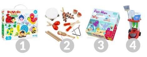 zabawki dla roczniaka i dwulatka