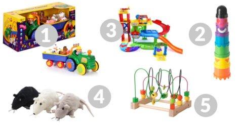 zabawki manualne dla maluchów