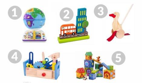 zabawki ruchome dla roczniaka